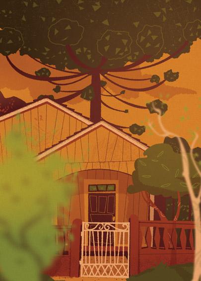 Ilustração de casa