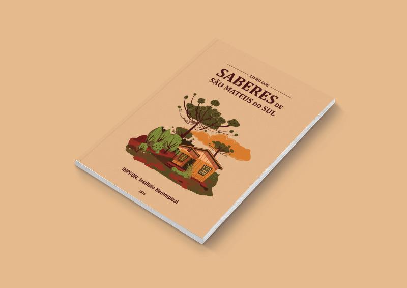 Ilustração de capa de livro