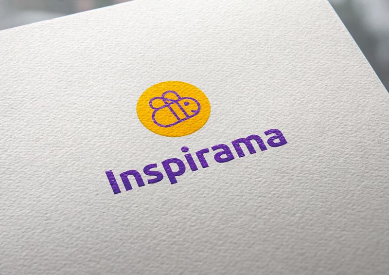 Criação de logo Inspirama